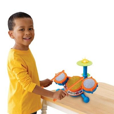 VTech KidiBeats Drum Set, Toy Drums and Percussion