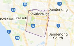 Keysborough is a suburb in Melbourne, Victoria, Australia, 27 km south-east of Melbourne's central business district. Its local government area is the City of Greater Dandenong.   |  Area: 6.4 km² | Population: 22,700 (2014 estimate) | Postcode: 3173 | Federal division: Division of Isaacs
