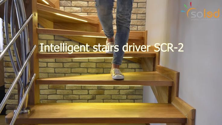 Stair light controller - Modern LED Stairs Design, Stair Lighting System - Automatic LED Stair Lighting - PL Production on Vimeo