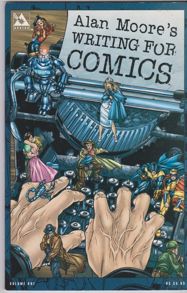 Alan Moore's Writing for Comics Vol. 1 by Alan Moore and Jacen Burrows (2003,... | eBay!