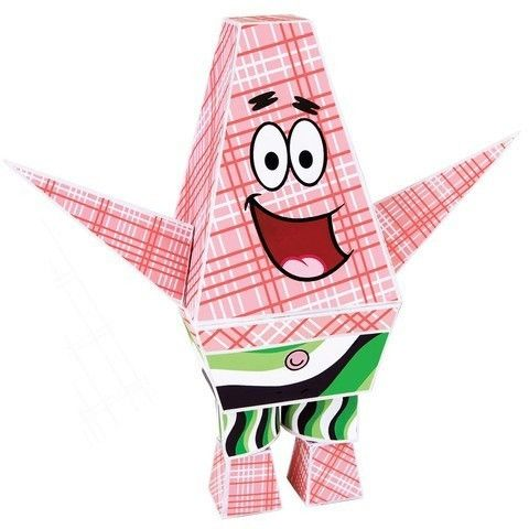 Paper Punk Paper Toy - Build Your Own Patrick Star