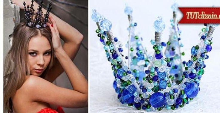 WAOUH!!! Fabriquer une couronne n'est pas si difficile quand on voit ce tutoriel, et pourtant elles sont MAGNIFIQUES! Bricolez-en une pour une fête de petite fille sous le thème des princesses, ou encore pour la reine d'un bal! Un couronne pour le r