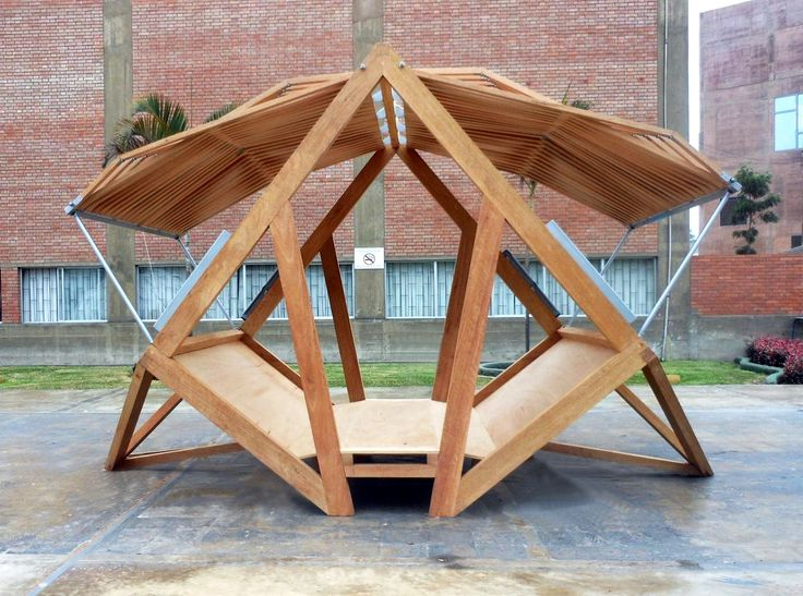 The Best Student Design-Build Projects Worldwide 2016,Pempén, a Transformable Module for the Peruvian Forest (Pontificia Universidad Católica del Perú). Image Courtesy of Pempén