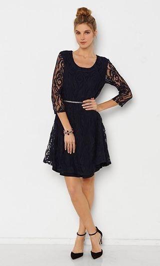 H m black lace dress 2018 for women