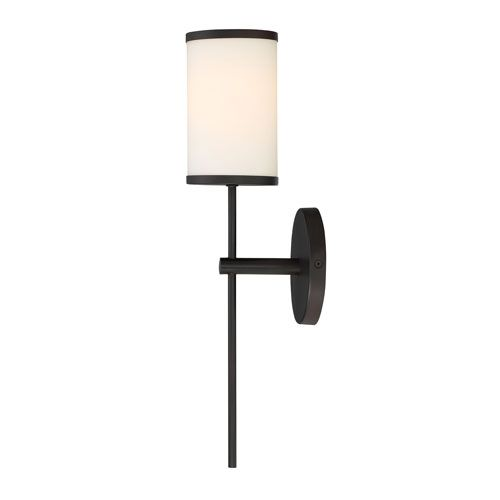 Nicollet Rubbed Bronze One Light Wall Sconce With Etched Opal Glass Shade 251 First 1 Ligh