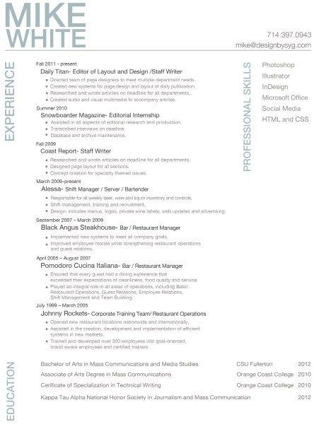 professional resume 4