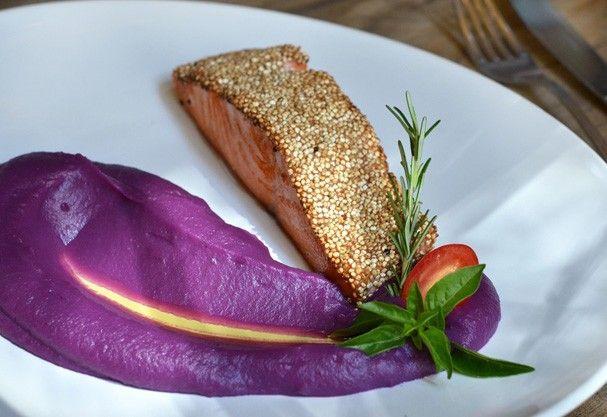 O quitute faz parte do cardápio fit do Serafina e foi criado em parceria do restaurante com a blogueira Gabriela Pugliesi