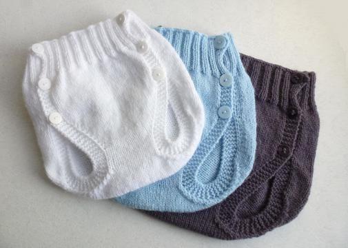 Culotte couvre couche, T1/3/6 mois - Tutoriel de tricot. - Tutoriels de tricot chez Makerist
