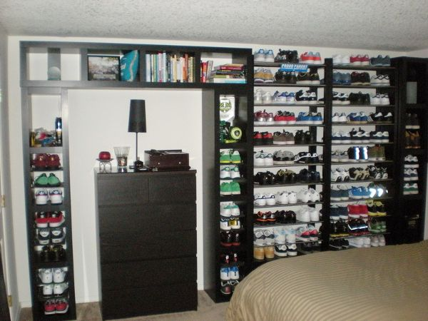 DIY Shoe Organizer | Lacking For Storage: The Ultimate Shoe Rack IKEA Hack » Curbly | DIY ...