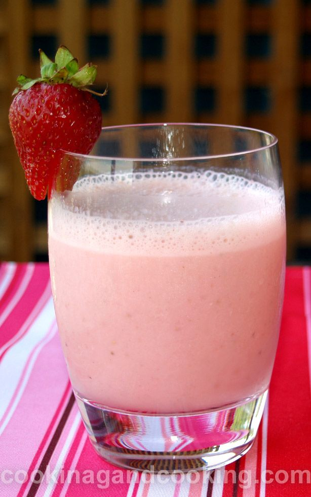 Lassi is a traditional yogurt-based drink in India and here is a simple recipe for Strawberry Lassi. It is a perfect cold drink for hot summer days.