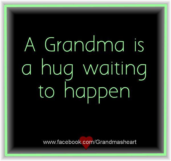 Love hugging my grandchildren!