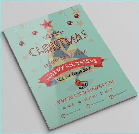 20 Best Awesome Free Christmas Flyer Templates Images On Pinterest