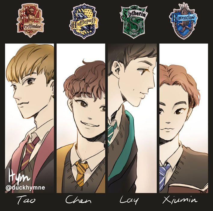 Exo fanart by Hym