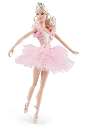 Ballerina Barbie- I Collected barbies growing up - i still have my favourites packed away safely!