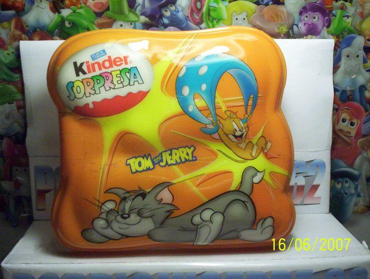 Kinder Gadget Confezzione in Plastica Tom Jerry Gialla | eBay