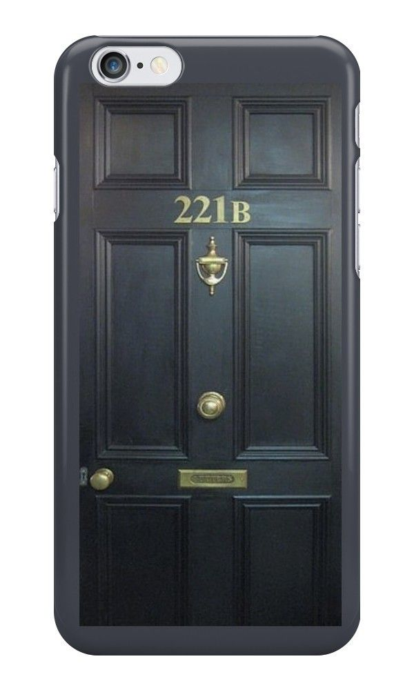 Our 221B Baker Street Door - Sherlock Phone Case is available online now for just £6.99.    Fan of Sherlock? You'll love our 221B Baker Street Door - Sherlock phone case, available for iPhone, iPod & Samsung models.    Weight: 28g, Material: Plastic, Production Method: Printed, Authenticity: Unofficial, Thickness: 12mm, Colour Sides: Clear, Compatible With: iPhone 4/4s | iPhone 5/5s/SE | iPhone 5c | iPhone 6/6s | iPhone 7 | iPod 4th/5th Generation | Galaxy S4 | Galaxy S5 | Galaxy S6 | Galaxy