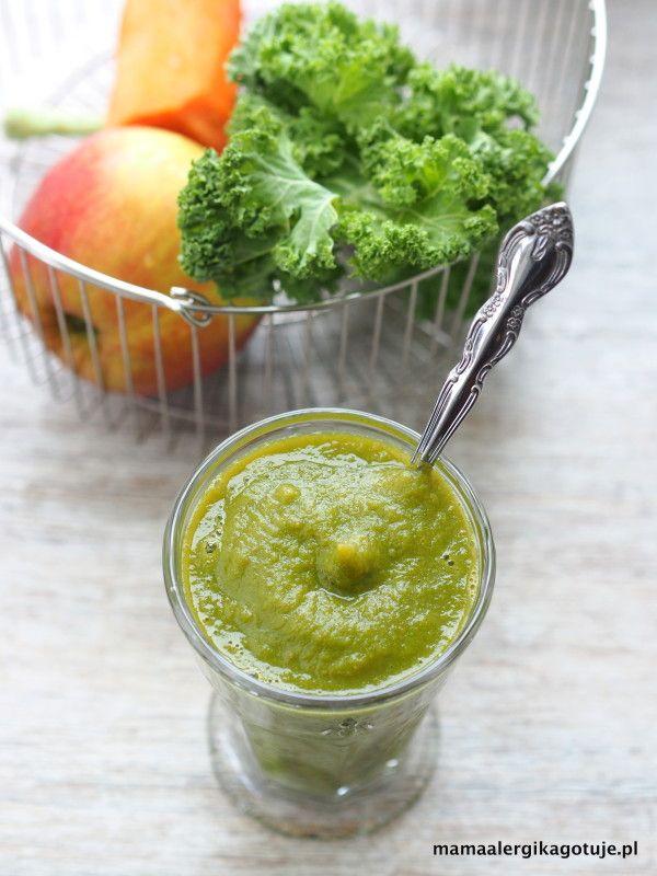 zielony mus warzywno owocowy dieta Dąbrowskiej