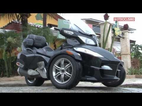 Superteste - BRP Can-Am Spyder RT-S - Revista Motociclismo - YouTube