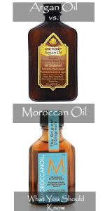 Argan Oil vs Moroccan Oil- differences, uses, etc!  Great info and comparison