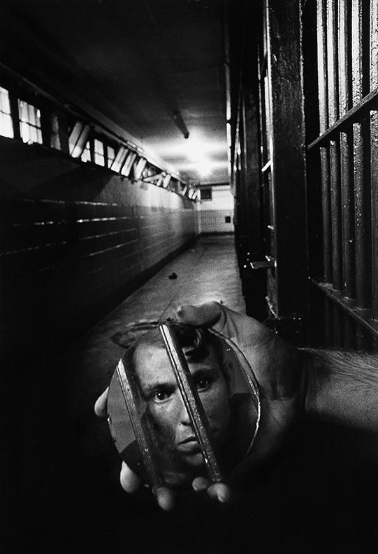 Photo by Sean Kernan - A prisoner in solitary confinement. Alabama, 1979. S)