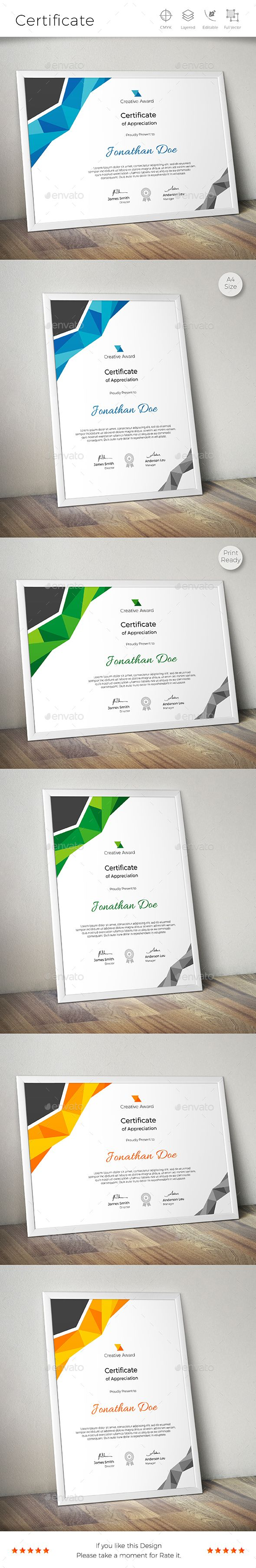 #Certificate - Certificates Stationery Download here:  https://graphicriver.net/item/certificate/17793819?ref=alena994