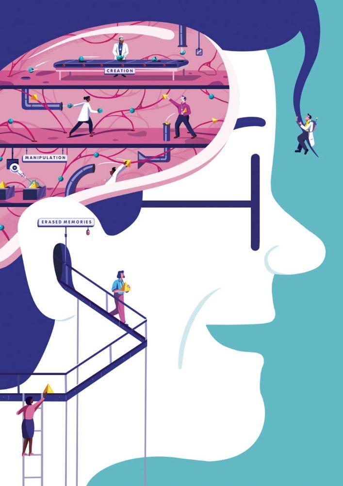 Illustrations by Jack Hudson   Inspiration Grid   Design Inspiration