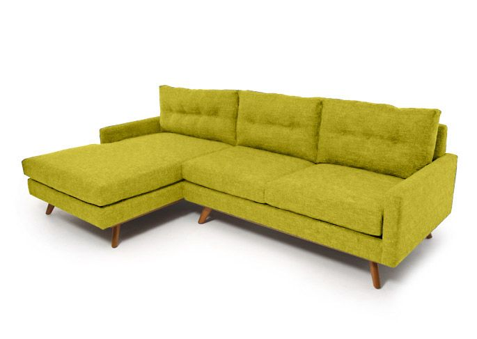 Mid Century Modern Sectional Sofa - Fillmore Sectional ...