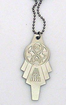 Doctor Who TARDIS Key Necklace- McCoy Era by Doctor Who. $19.95. New improved Version- Thicker Metal Key. Sylvester McCoy era TARDIS key on dog tag style chain. Save 20% Off!