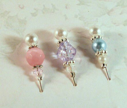 Stick Pins by Darsie - The Pastel Collection, The Stamp Simply Ribbon Store