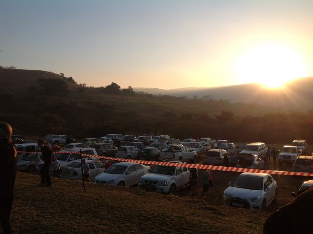 Beautiful sunrise @kzntrailrunning #maweni