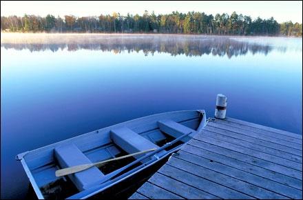 Muskoka, Ontario...best cottage country