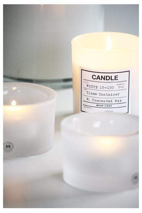 I <3 candles.