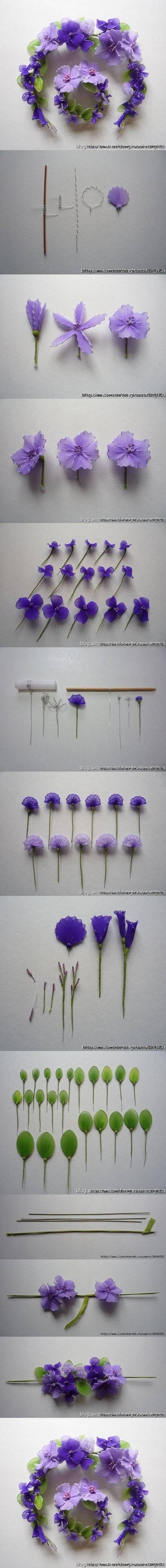 74 best flower id fun images on pinterest branches flower diy tutorial by diyforever izmirmasajfo