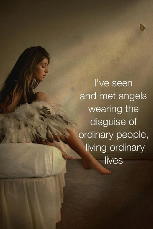Angels are always among us