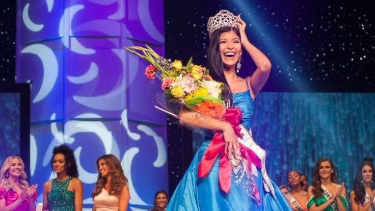 The 17-year-old Kansas City native impressed judges and the audience alike during the question-and-answer portion of the competition. Dominguez-Heithoff explained her efforts to lobby the Missouri legislature to pass a law to aid adults with developmental disabilities.  Along with Miss Missouri the other top five finalists included Miss Oregon Vanessa Matheson Miss Nevada Alexis Smith Miss California Jaanu Patel and Miss Indiana Paige Robinson.  Dominguez-Heithoff takes over the crown from…
