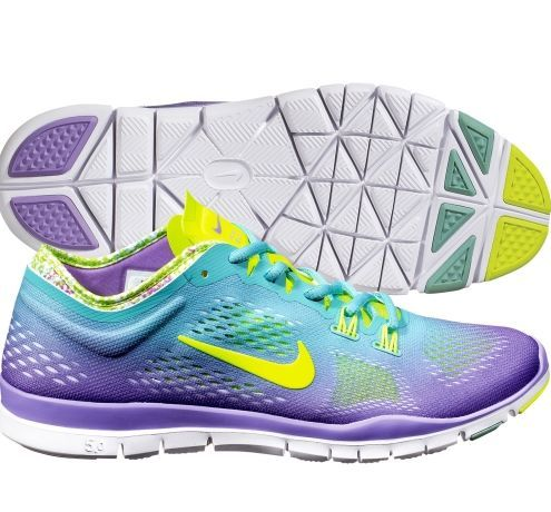 Nike Women's Free 5.0 TR FIT PRT 4 Training Shoe. A part of the DICK'S Sporting Goods #STRONGMOM Contest.