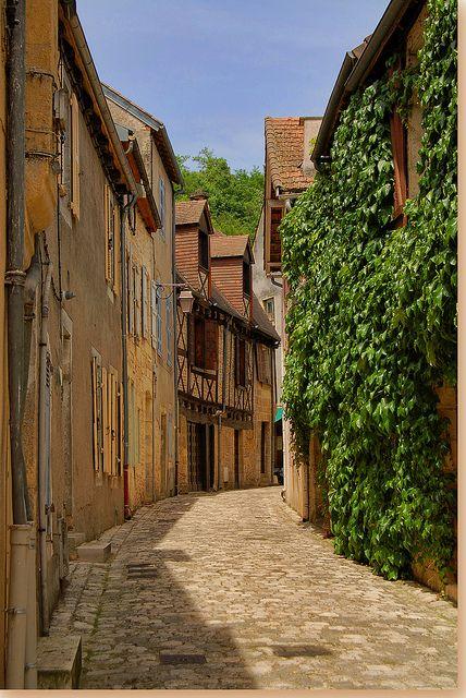 Quartier médiéval, Montignac, Dordogne, France