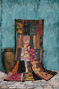 Guatemalan Quilts Bedroom Decor - eclectic - quilts - other metro - Fair Trade Quilts & Crafts