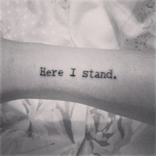 """1. This simple but powerful statement. 