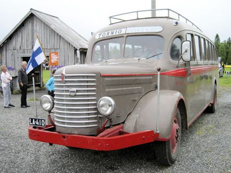Sisu Bus vintage