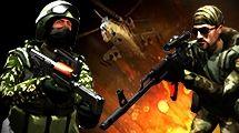 INTENSE first person shooter Konkurrer med venner eller spillere fra hele verden ved hjælp af nogle af verdens farligste moderne våben og køretøjer. Spil med op til 26 spillere i otte unikke arenaer designet til infanteri, køretøjer og luftkamp.