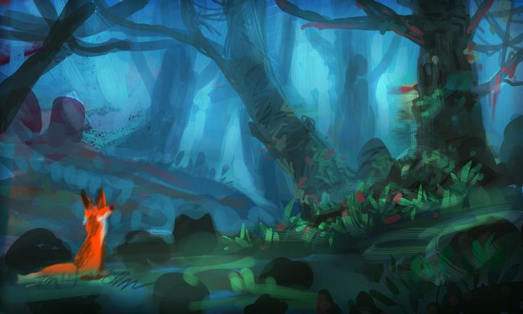 """Early Concept Art and Unity screenshot Concept art I 've made at the start of the videogame project : """"Seasons after Fall"""" I've worked as Visual artist / Art director. You can check the projct on the website: http://seasonsafterfall.com/  and it's available on steam."""