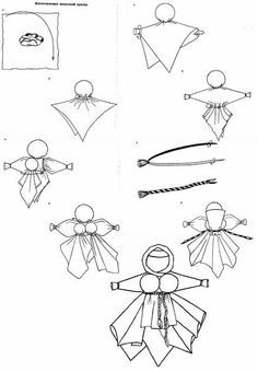 motanka doll patterns - Google Search