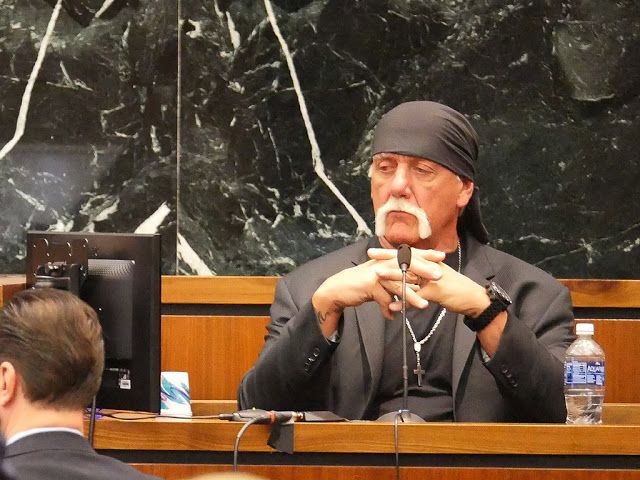 """HULK HOGAN $115 MILLION VICTORY In Gawker Sex Tape Case  - Watch Video    Hulk Hogan has been awarded $115m by a Florida jury over Gawker's 2012 posting of his sex tape PEOPLE can confirm.   """"We're exceptionally happy with the verdict. We think it represents a statement as to the public's disgust with the invasion of privacy disguised as journalism. The verdict says no more"""" the Bollea team said in a statement to PEOPLE.   Variety reports that the jury found that Hogan - real name Terry Gene…"""