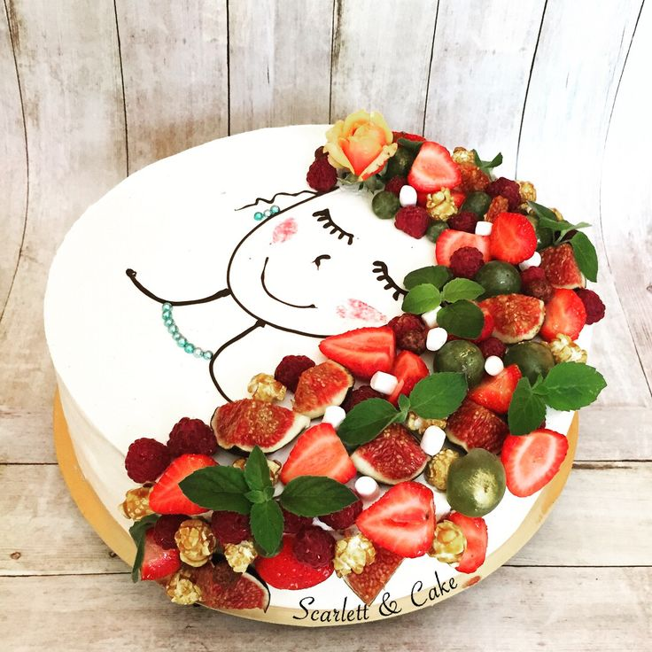 Birthday Cake for Summer