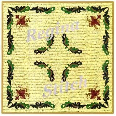 Νο 1404 Ρεγγίνα,ΓΡΑΜΜΙΚΟ ΣΧΕΔΙΟ μπέζ εταμίν με χρυσοκλωστή.  (Επιλέξτε το ύφασμα της αρέσκειά σας : εταμίν λευκή ασημόφως,λευκή ηλιαχτίδα,εκρού ηλιαχτίδα ή μπέζ ηλιαχτίδα. Για εσάς που προτιμάτε τον καμβά επιλέξτε καμβά με χρυσοκλωστή.) Διάσταση Υφάσματος: 90x90 εκ. Διάσταση σχεδίου: 83x83 εκ.Τιμή 25 ευρώ.Γιούλη Μαραβέλη τηλ 2221074152,κιν 6972429269