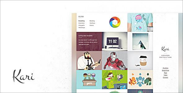 Kari WordPress - Creative WordPress