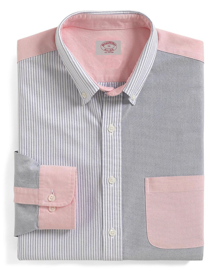 170 best casual dining images on pinterest checked for Brooks brothers custom shirt