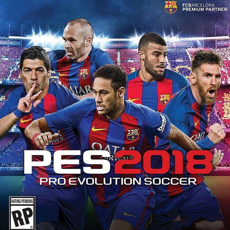 Pro Evolution Soccer PES 2018 Jual Game