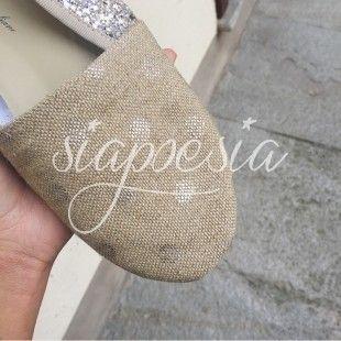 Scarpe Anniel Soft Slipper Pois Argento 2017